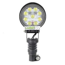 More details for beacon pole mounted led work lamp c/w rubber pole mount fit extra work lamps