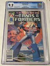 Transformers#1cgc9.2(1st app of Autobots/Decepticons)Canadian Price Variant🔥🔥