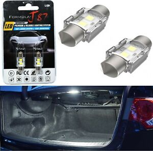 LED 5W Light CANbus DE3021 White 5000K Two Bulbs Trunk Cargo Replacement Stock