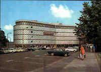 LEIPZIG Sachsen DDR Ansichtskarte ~1973 Auto Parkplatz Fußgänger Konsument Brühl