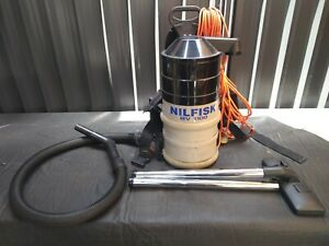 NILFISK BV 100 Backpack Commercial Vacuum Cleaner 1100 Watt made in Australia