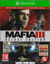 MAFIA III 3 DELUXE EDITION + SEASON PASS - XBOX ONE - NUOVO ITALIANO