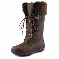 NEW PAJAR Phyllis Winter Snow Zip Boot DRK BROWN MEMORY FOAM  SZ US11/EURO42
