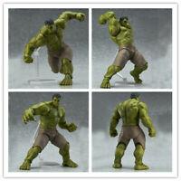 Marvel Avengers Hulk Figma 271 Anime Movable Action Figure PVC 17cm Model Toy