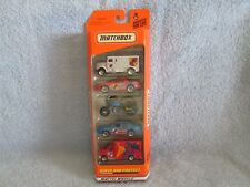 1999 MATCHBOX Serve and Protect 5 pack Vehicles Cars; New in Unopened Package