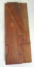 N°4 chiffre ANCIENNE LETTRE D'IMPRIMERIE EN BOIS  Print letters