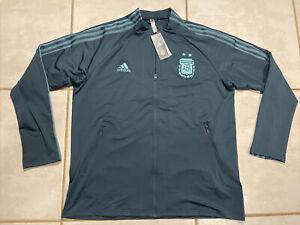 NWT ADIDAS Argentina National Team 2020 Anthem Jacket FH8604 Men's 2XL