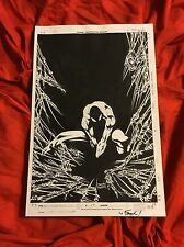 SPECTACULAR SPIDER-MAN #17~ORIGINAL COVER ART RE-CREATE~HUMBERTO RAMOS/FAUCHER