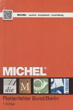 Michel Katalog Plattenfehler Bund / Berlin - 1. Auflage (Mai 2017)