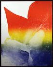 """Paul Jenkins """"Cardinal Prism"""" Hand Signed & Numbered Art, abstract expressionist"""