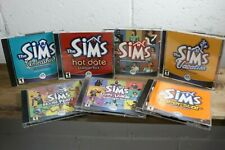 The Sims Mega Lot Bundle 6 Expansion Packs & The Original PC CD-ROM Games G8