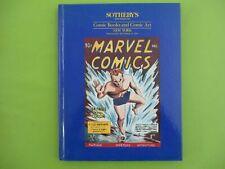 Sotheby´s  Comic Books and Comic Art  Auction Katalog 1991  TOP