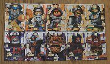 LEGO Nexo Chevaliers™ trading carte Jeu TOUS 10 Ultra FLEURET Ensemble complet