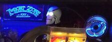 Twilight Zone Blue Plasma Eye W/ Blue Back Lit Signage