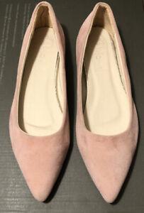 Pointy Toe Flats Size 8