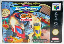Micro Machines 64 Turbo - komplett in OVP Nintendo 64 N64 boxed CIB