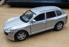 "New 5"" Kinsmart Porsche Cayenne Turbo Diecast Model SUV Toy 1:38 Silver"