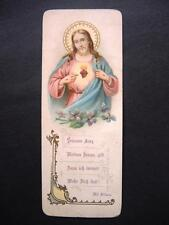 Heiligenbild ANDACHTSBILD  santino  IMAGE PIEUSE bidprentje LUXUSPAPIER 12x4cm