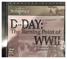 Britannica D Day The Turning Point of WWII Pc Sealed New Free US Ship Nice XP