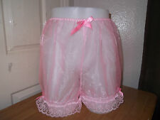 UNISEX~ADULT BABY~SISSY~MAIDS~TV/CD SEXY ORGANZA & LACE BLOOMERS
