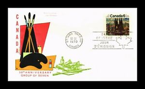 DR JIM STAMPS GROUP OF SEVEN ANNIVERSARY FIRST DAY ISSUE CANADA COVER