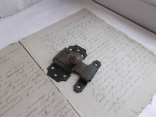 French antique hardware  iron latch lock with receiver