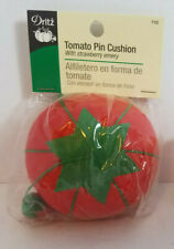 Vintage Sewing Pin Cushions-Tomato w/Strawberry Emery & Flower Pot-You Choose