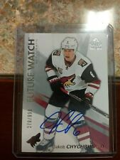 2016-2017 Future Watch Jakob Chychrun Phinx coyotes NHL Card  Signed