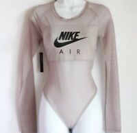 NEW Nike Air Mesh Bodysuit Womens Medium