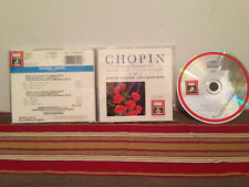 Chopin piano concertos Klavierkonzerter Music cd Case-disc & insert