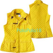 New Polo Ralph Lauren Women Equestrian Barn Quilt Vest S
