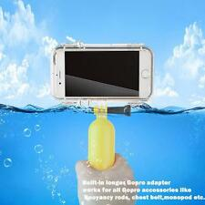 Sports Underwater Mount Waterproof Case Cover For iPhone 6 6S Gopro Accessories
