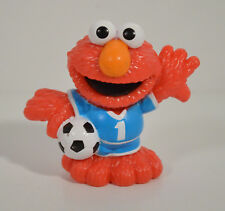 "2011 Soccer Elmo 2.5"" Hasbro Playskool Action Figure Sesame Street Workshop"