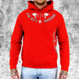 Hells Angels Support 81 Sweatshirt Hoodie FTS Rot Herren S-4XL - HAMC North End