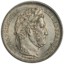 Louis-Philippe 2 Francs 1847 Paris splendide brillant de frappe
