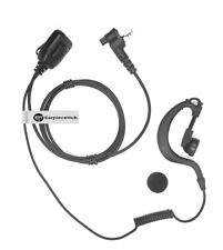 Motorola MTH800 Radio G Shape Police Headset Security Earpiece with Mic NEW