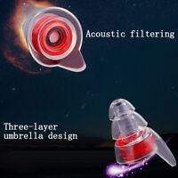 Tapones auditivos con cancelación de ruido de silicona suave para dormir F4yu