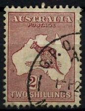 Australia 1931-6 SG#134, 2s #D48433 Marrón Canguro Usado