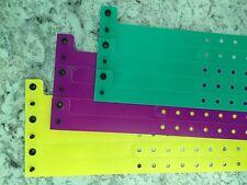 ThumbGuard Thumb Sucking Plastic Wristbands Mardi Gras Set Purple, Yellow, Green