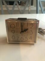 Vintage Westclox Dialite Drowse Model 22194 1960s Alarm Clock - Works!