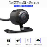 HD 170° Car Side/ Rear View Reverse Camera Waterproof  CCD Night Version