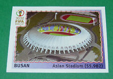 N°6 BUSAN STADE WORLD CUP PANINI FOOTBALL JAPAN KOREA 2002 COUPE MONDE FIFA