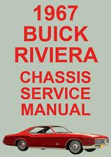 BUICK RIVIERA WORKSHOP MANUAL: 1967