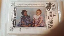 "Flossie & Friends DOLL EMPORIUM Pattern Fits 24"" Dolls #DE 456"