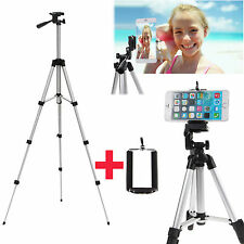 Solid Professional Foldable Tripod Stand Monopods for DSLR Camera w/Phone Hold