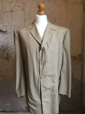 Mens Vintage Lightweight Silk And Wool Size 44 Summer Jacket