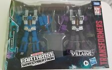 Transformers WFC-E29 Earthrise SKYWARP & THUNDERCRACKER Seekers MISB Target NEW