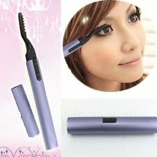 heated eyelash curler results. electric pen style heated eyelash curler beauty eyes lashes maker lasting makeup results