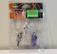 Vtg 2003 Lemax Spooky Town Poly-Resin Figures 3 Set - Item No. 32757A - RARE NEW