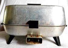 Vintage Sunbeam  Electric Skillet Fry Pan Chicken Fryer Vented 1250 W 120 VOLTS